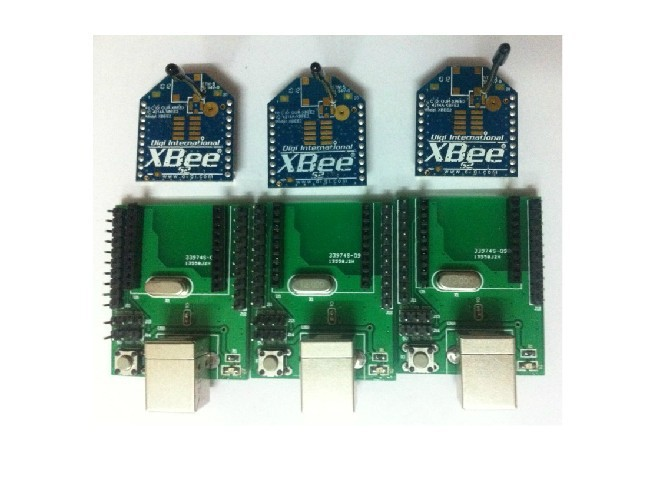 Freeshipping  XBee S2 1 mw Zigbee wireless data transmission module suit freeshipping uart to zigbee wireless module 1 6km cc2530 module with antenna
