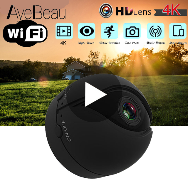 Night Vision With Motion Sensor Camcorder Wi Fi Small IP Secret Micro Video Mini Camera Cam HD 1080p Wifi Minicamera Microcamera
