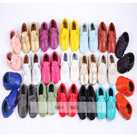 Aliexpress Baby Kids Genuine Leather Soft Baby Boy Shoes First Walkers Toddler Baby Moccasins Infant Fringe