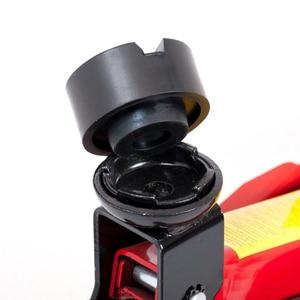 Image 4 - Universal 6,5 cm Auto Pneumatische jack Gummi Auto Jack Pad Gummi Platte Block Schwarz jacking Auto Lift Pad Fahrzeug Reparatur werkzeug