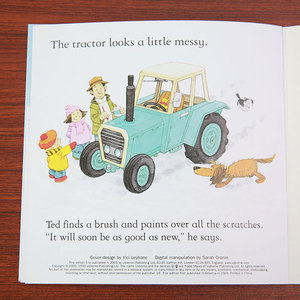 Image 5 - 20pcs/set 15x15cm Usborne Picture English Books For Children And Baby Famous Story English Tales Series Of Child Book Farm Story