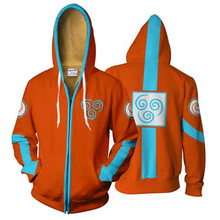 Avatar The Legend of Korra Hoodies Sweatshirt Costumes Cosplay Coat Jacket Outwear