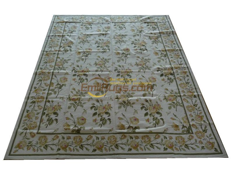 100% laine cousu à la main broderie tapis needleopint tapis 8'X 10' 244 CM X 305 CM gc032 zc2045