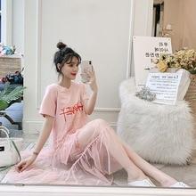Новое летнее платье для беременных, Сетчатое платье для беременных, большие размеры, модное платье для беременных с буквами