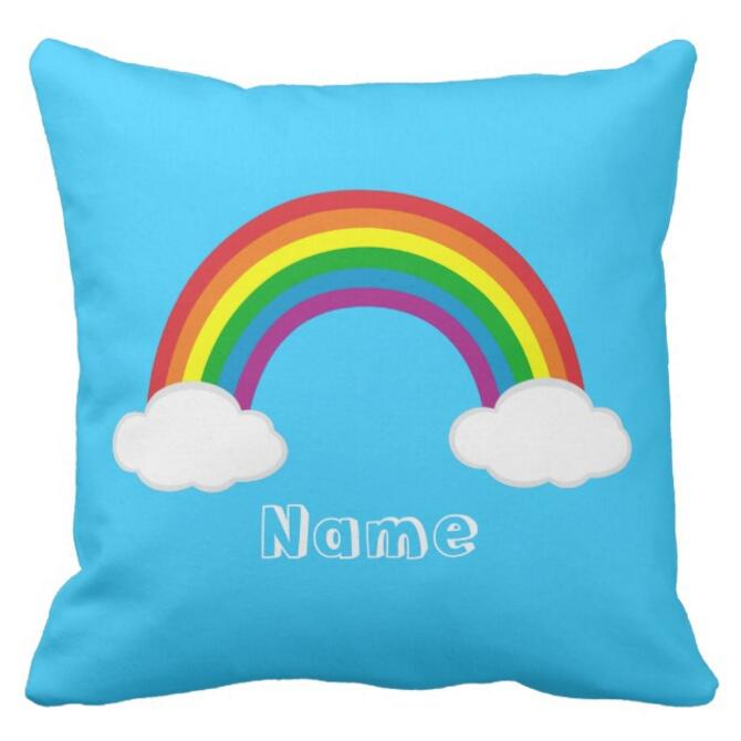 Personalised Unicorn Taie D/'oreiller Coussin Taie d/'oreiller Housse Personnalisée Cadeau Fille