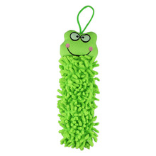 New Green Microfiber Cartoon Absorbent lovely animal face Hand Dry Clearing Towel For Kitchen Bathroom Office Car
