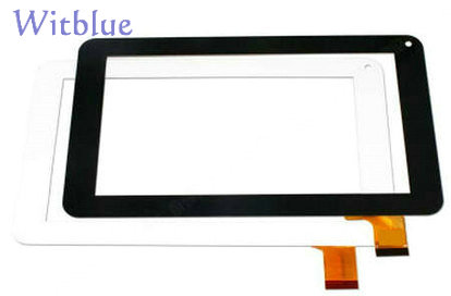 New For 7 inch Mpman MPQC707 Tablet touch screen Touch Panel Digitizer Glass Sensor Replacement Free