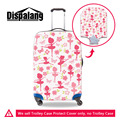 Dispalang Ballet Danceing Girl Spandex Anti-dust Luggage Protector Fits 18-30 Inch Trolley Case Elastic Travel Suitcase Covers