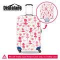 Dispalang danceing ballet girl spandex anti-polvo protector adapta 18-30 pulgadas carro de equipaje caja elástica maleta de viaje cubre