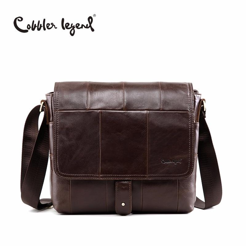 Cobbler Legend England Herren Schultertasche Leder Herren - Handtaschen - Foto 1