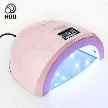 Лампа для ногтей SUNONE 1 s светодио дный ногтей лампа Сушилка для ногтей для гель Лаки сушки 48 Вт гель лак терапии лампы ультрафиолетового Замена