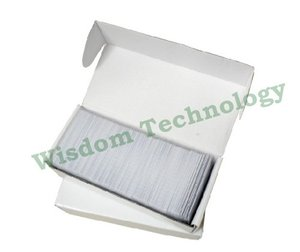 Image 2 - 무료 배송 100 개/몫 rfid 125 khz 스마트 카드 em4100/4102 pvc 카드 두께: 0.8mm