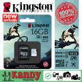Kingston micro sd card for GoPro drones 16gb 32gb 64gb memory card class 3 UHS-I U3 microsd 4K video action cam camera cartao de