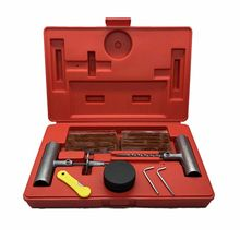 Universal Tire Repair Kit to Fix Punctures and Plug Flats 37-Piece Value Pack For Car Motorcycle Trucks  ATV