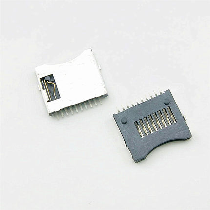 10Pcs TransFlash TF Micro SD Card Socket Plug Adapter Connector