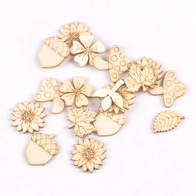 30Pcs 25-30mm Sunflowr/grass Wood Slices Home Decor DIY Crafts Embellishment Handmade Scrapbooking Wooden Ornaments m194530Pcs 25-30mm Sunflowr/grass Wood Slices Home Decor DIY Crafts Embellishment Handmade Scrapbooking Wooden Ornaments m1945