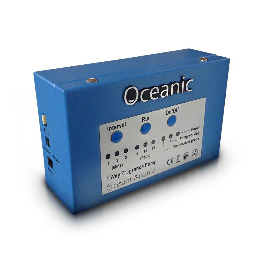 Heimwerker Oceanic Elektrische Aroma Flüssigkeit Difuse Dosierpumpe Automatische Sauna Duft Diffusor Für Dampfbad Geschickte Herstellung