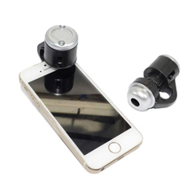 Generic 30X Zoom LED Magnifier Clip-On Cellphone Mobile Phone Microscope Micro Lens For Apple For iPhone For Samsung For iPad