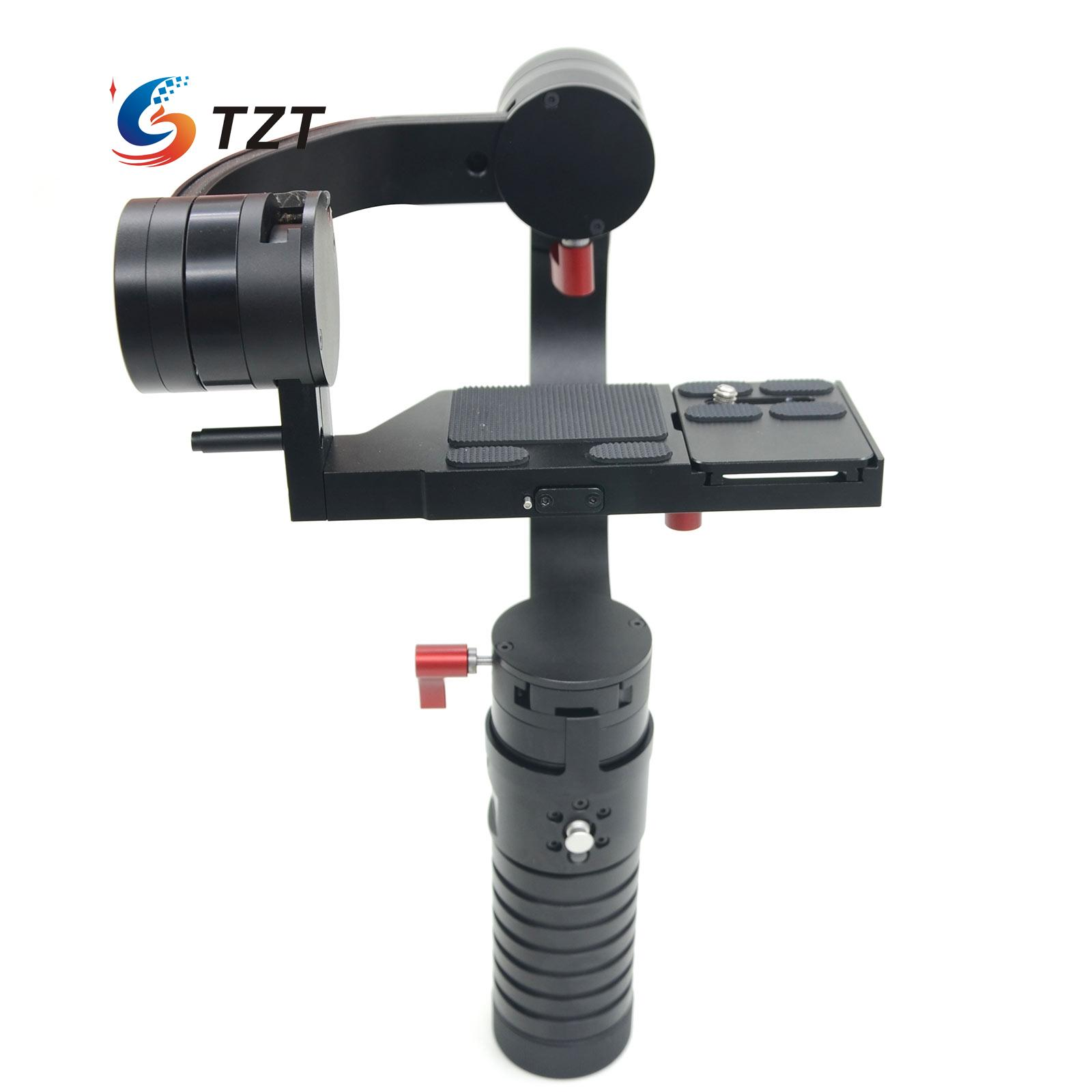 Handheld 3 Axis Gimbal Stabilizer 32Bit Gyro Steadicam PTZ PK DS1 for DSLR 5D3 5D2 6D Camera цена