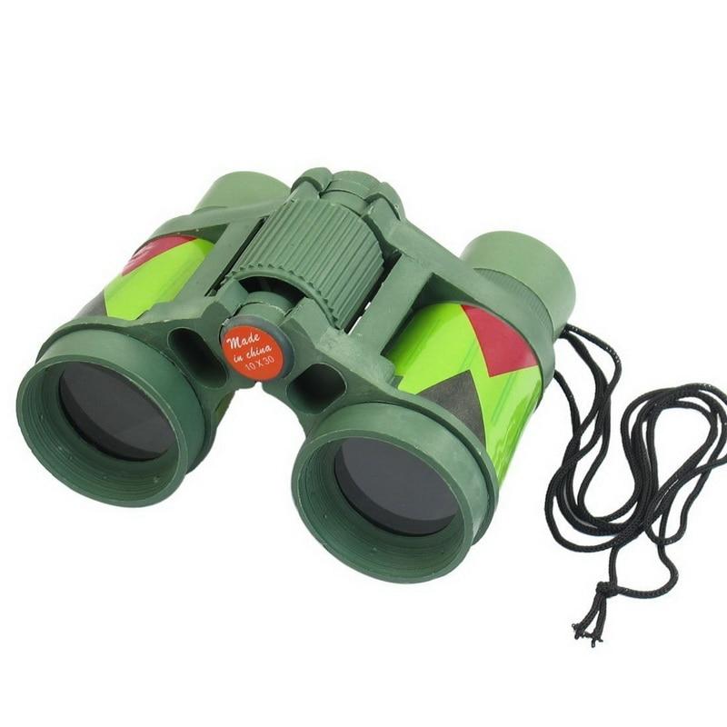 Outdoor Toys For 1 : Mini camouflage color plastic binoculars equipment model