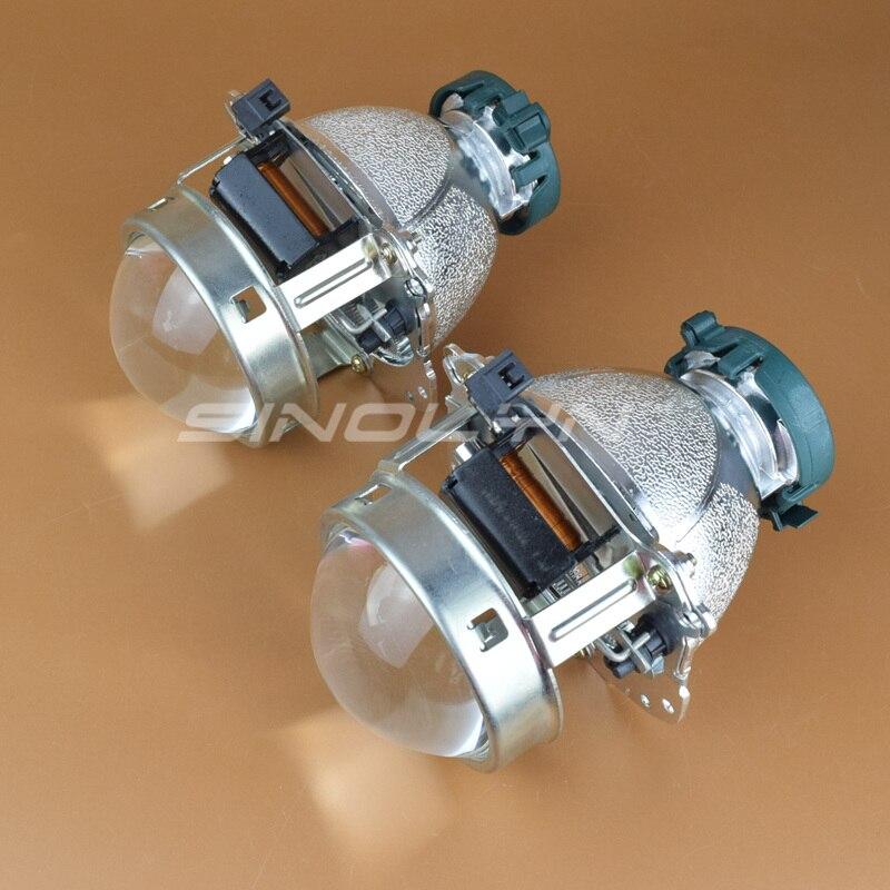 EVOX-R V2.0 D2S Bi xénon projecteur lentille phare remplacer pour BMW E60 E39 X5 E53/Audi A6 C5 C6 A8/Mercedes Benz W211 209/Octavia - 2