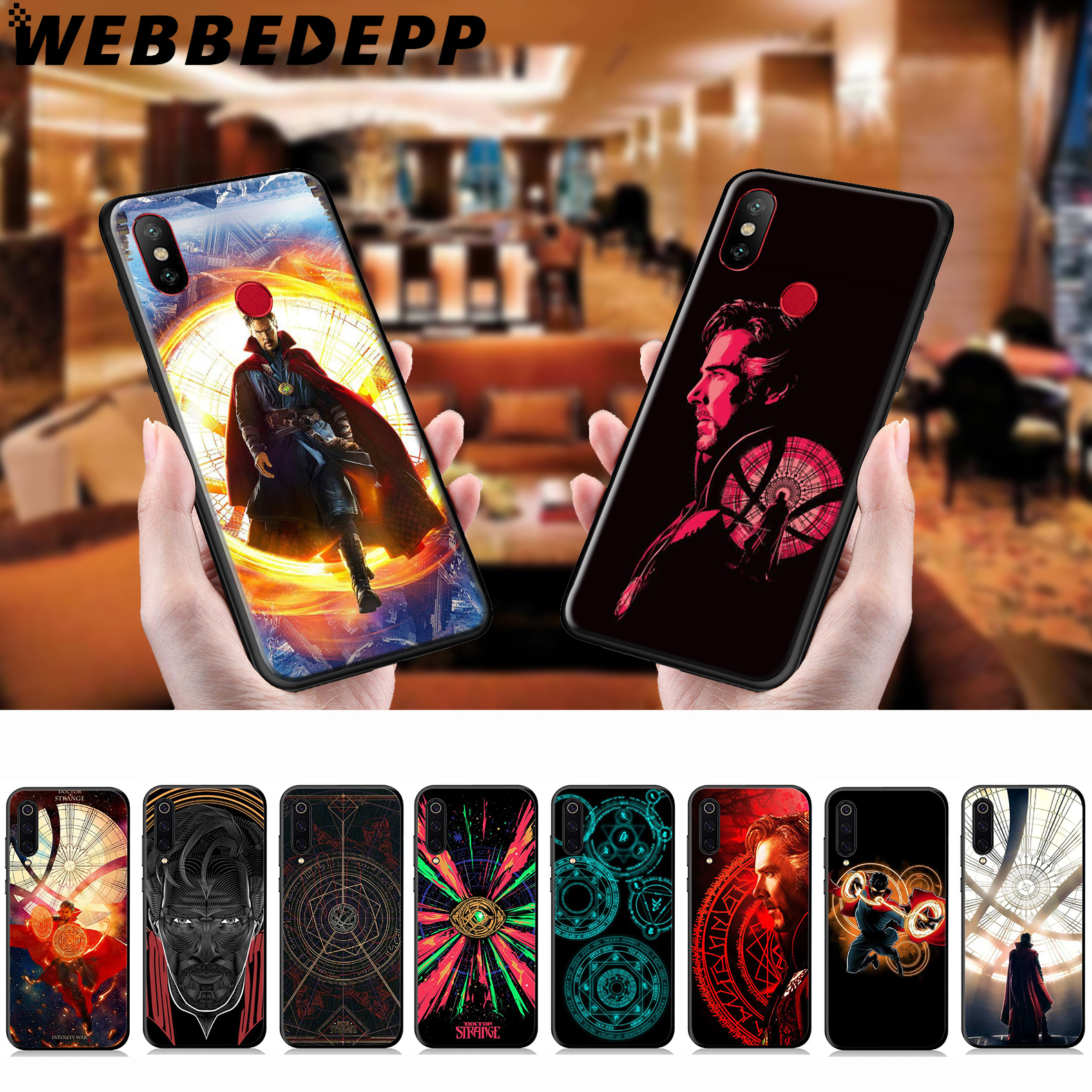 Webbedepp Doctor Strange Marvel Soft Case For Xiaomi Mi 9 8 Se 6 A1 A2 Lite Mia1 Mia2 Lite Mi F1 Max 3 Mi8 Pocophone F1 To Produce An Effect Toward Clear Vision Fitted Cases