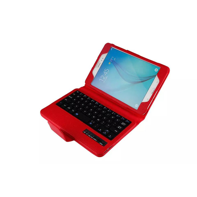 For Samsung Galaxy Tab A 8.0 SM-T350 SM-T355 case Removable Wireless Bluetooth Keyboard Case for samsung galaxy tab t350 t351 replacement new lcd display screen for samsung galaxy tab a sm t350 t350 t351 t355 8 inch free shipping