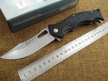 2016 Nuevo al aire libre plegable táctico del cuchillo 440C g10 de la lámina de acero frío bolsillo de la supervivencia cuchillos de caza que acampa EDC herramientas de mano