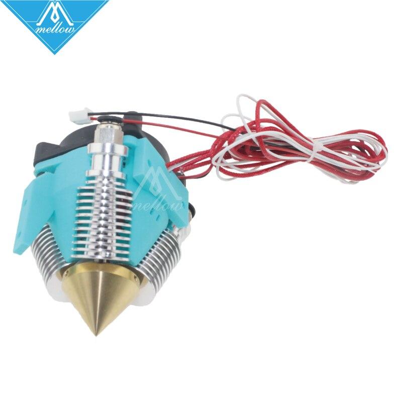 Mellow 3D Printer 12V / 24V Diamond Hotend Brass Çox rəngli isti - Ofis elektronikası - Fotoqrafiya 4