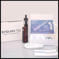 Original Innokin Endura T22 Kit Comes with 2000mah Built in Battery Vape Mod 4ML Prism Atomizer Endura T22 E Cigarette Vape Kit