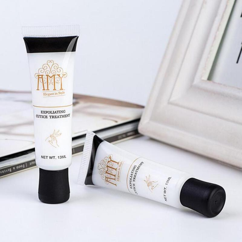 Nail Art Softener Exfoliant Soften Dead Skin Cuticle Remover Exfoliator Oil 13ML Manicure Tools Scrub Repair Cream L3