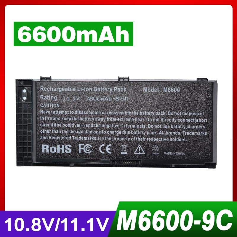 цена на 9 CELL Laptop Battery For DELL Precision M4600 M4700 M6600 M6700 M6800 M4800 FJJ4W FV993 PG6RC R7PND OTN1K5