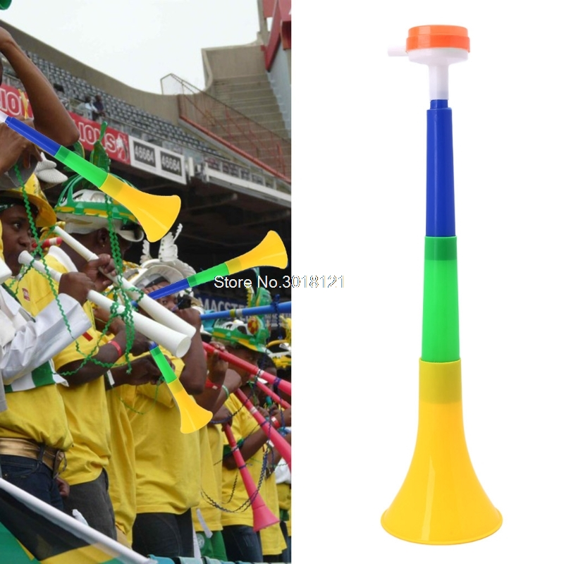 Fee Shipping Football Stadium Cheer Fan Horns Soccer Ball Vuvuzela Cheerleading Kid Trumpet   ROU_1008