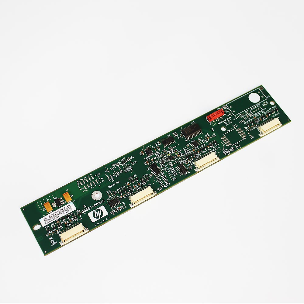 Q6651-60249 ISS Board for HP DesignJet Z6100 Z6100PS new plotter parts c4704 40059 pinch arm media lever for hp designjet 2000cp 2500cp 2800cp 3000cp 3500cp 3800cp plotter parts