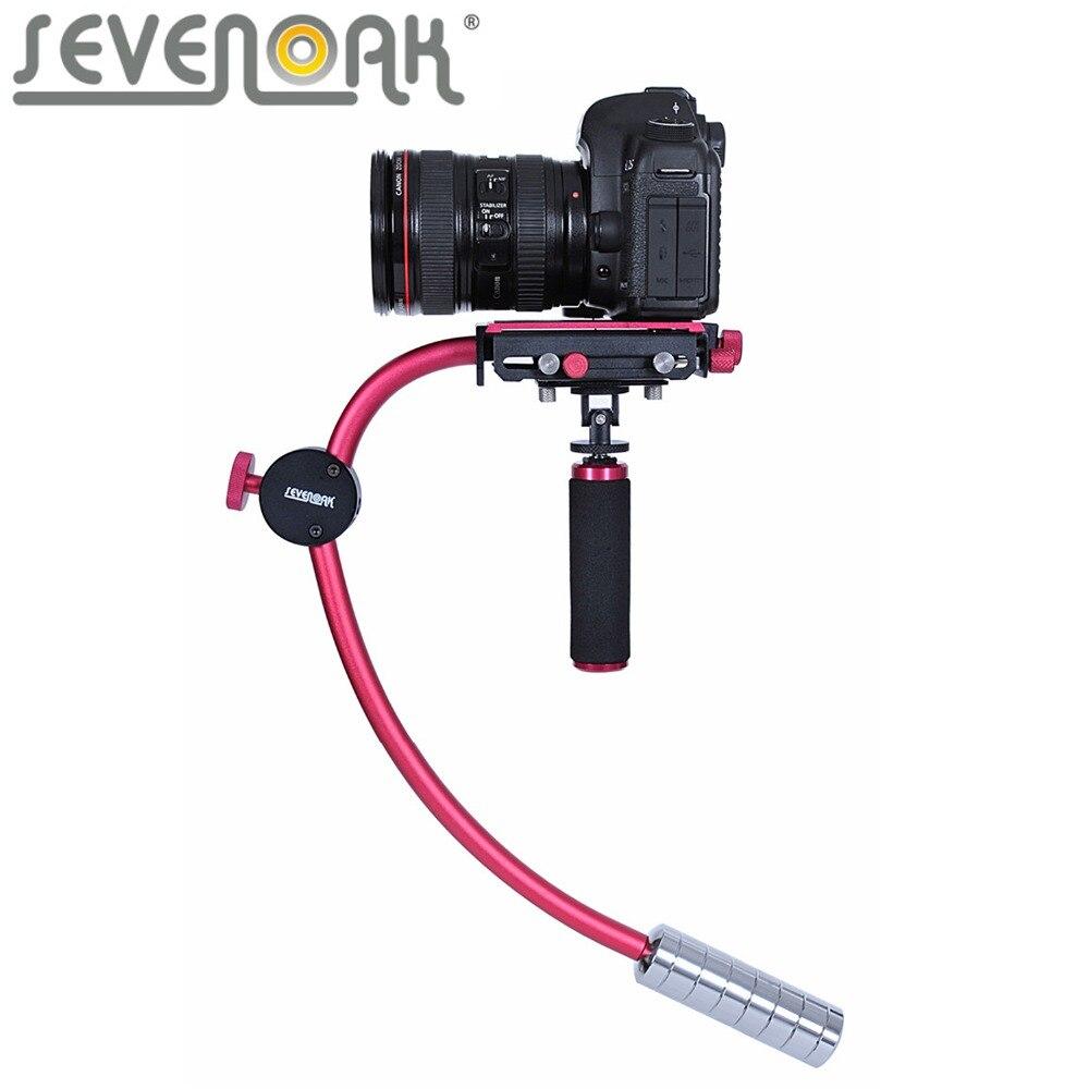 bilder für Sevenoak sk-w01 handkamera stabilizer steadycam für canon nikon sony videokameras dslr camcorder