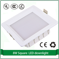1 Piece Free Shipping Square 180mmx180mm Cutout Openning 155mmx155mm 5730 Led Downlight 12w 15W 18W Square