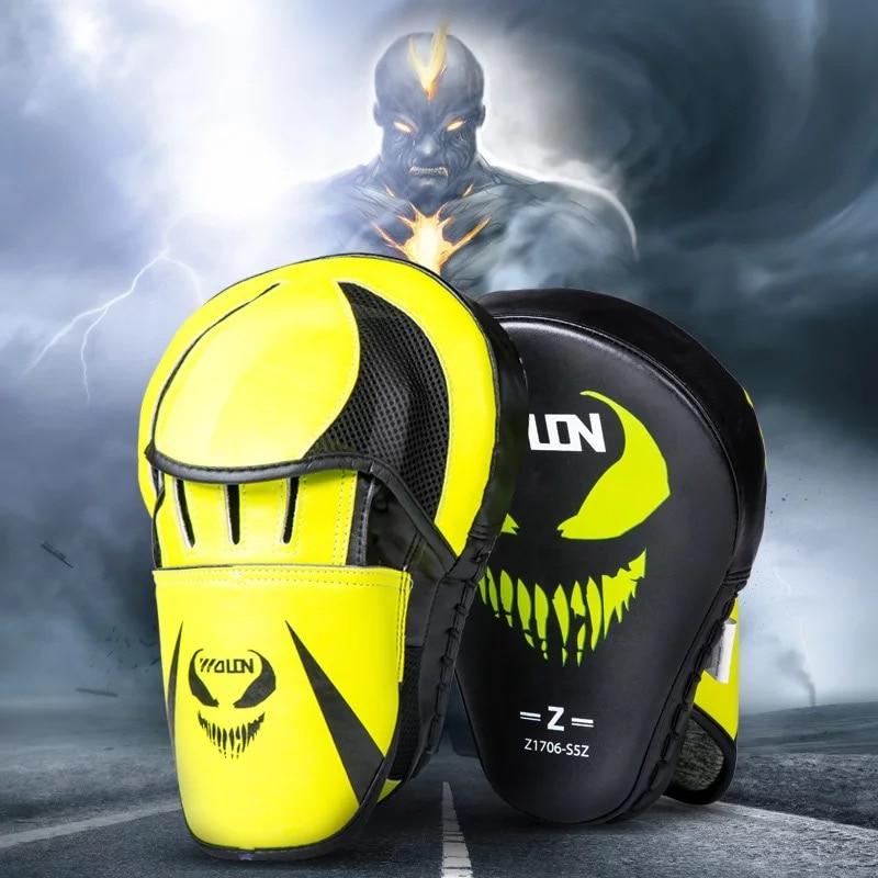boxing hand targets Super MMA Punch Pad Focus Sanda Training Gloves Karate Muay Thai Kicking pad