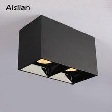 Потолочный светодиодный светильник aisilan с поверхностным креплением