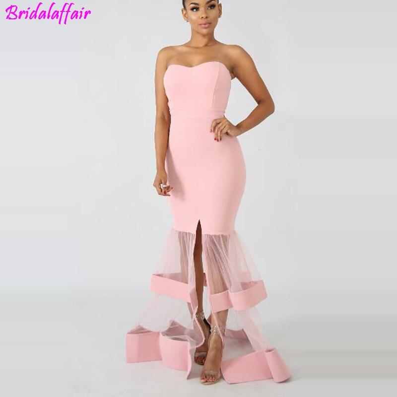 Luxe étage longueur plein manuel Sexy robe étoile robe de soirée robe de Cocktail Tulle Illusion bal personnalisé robe célébrité
