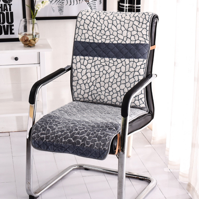 Slide Proof Thick Seat Cushion For Office Chair Bottom Winner Dustproof