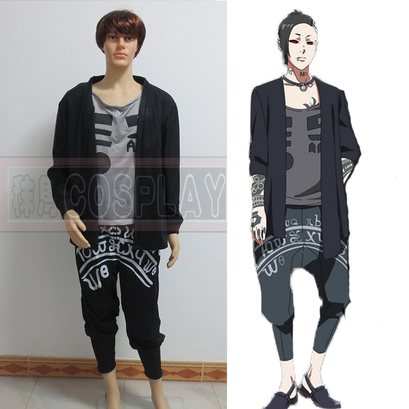 Free Shipping Tokyo Ghoul Uta Cosplay Costume Tailor made Any Size цены онлайн