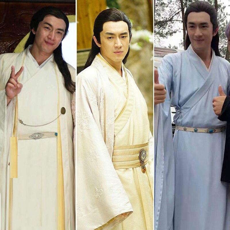 5 Designs Lin GengXin Yuwen Yue Male Costume Hanfu Childe Prince Costume For TV Play Princess Agents Legend Of ChuQiao