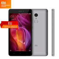 Global Version Original xiaomi redmi note4 mobile phone snapdragon 625 octa core 3GB RAM 32GB ROM