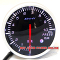 White&Red LED Backlight 60mm DEFI BF Gauge Meter Oil Pressure Gauge