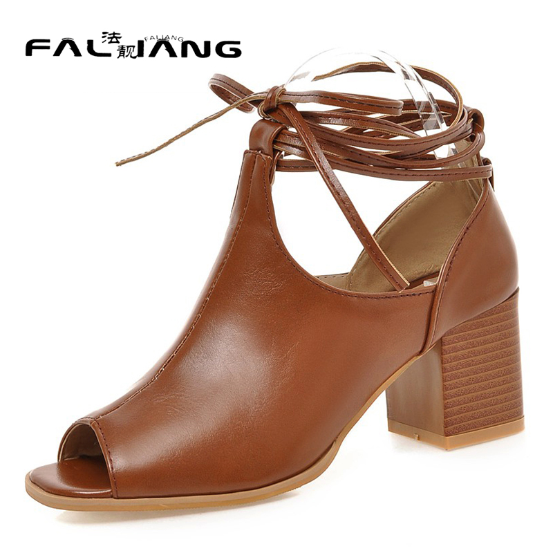 Fashion New arrival Big Size 11 12 women shoes Peep Toe woman Mature ladies Cross-tied womens Summer high heel sandals wholesale new 2017 spring summer women shoes pointed toe high quality brand fashion womens flats ladies plus size 41 sweet flock t179