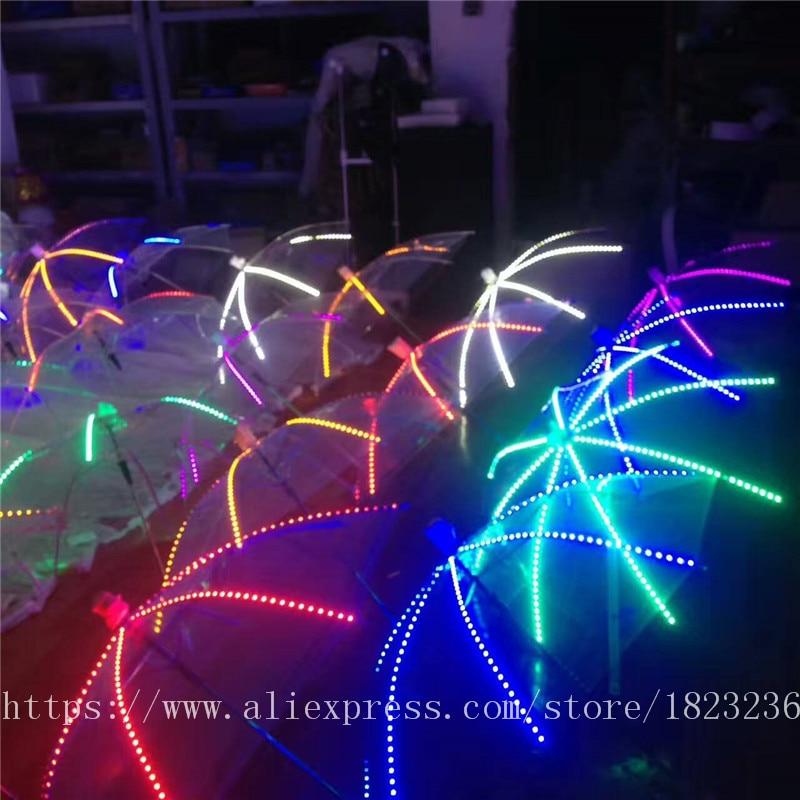 2019 Новый высокое качество Цвет лазерные перчатки Хэллоуин бар, ночной клуб Stage Show светящиеся очки перчатки реквизит вечерние Одежда для тан... - 3
