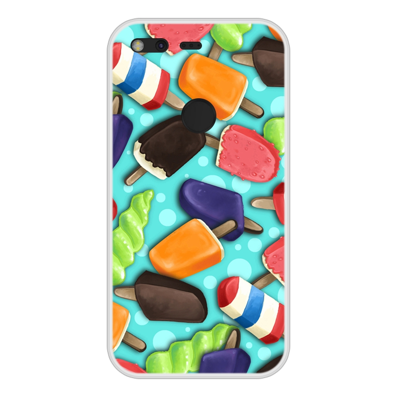 Google Pixel Soft Silicone TPU Cool Patterned Printing Cover For Google Pixel Phone Cases