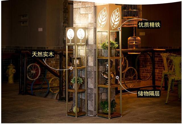 Vloerlamp Hout Landelijk : Creatieve slaapkamer vloerlamp led winkel inhoud ark lamp is