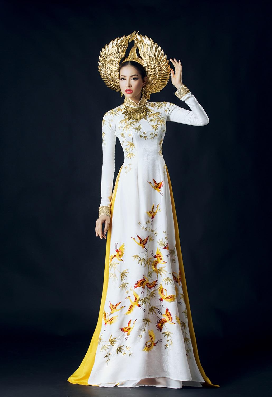 Aodai Vietnam Clothing Cheongsam Aodai Vietnam Dress Vietnamese Traditionally Dress Cheongsam Modern Plus Size Black Customized