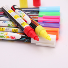 10 Color 6mm Liquid Chalk Pens LED Board Highlighter Markers For The Board Pen Erasable Chancery Whiteboard Markers